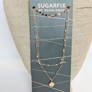 💢3 for $25💢Sugarfix Gold Blue Pineapple Necklace
